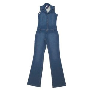Vintage Tommy Jeans Denim Jumpsuit Hilfiger